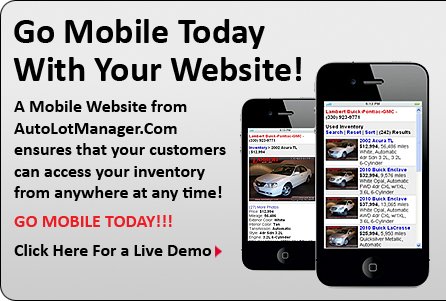 Mobile website demo